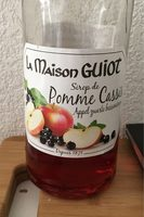 Sirop de pomme cassis - Produit - fr