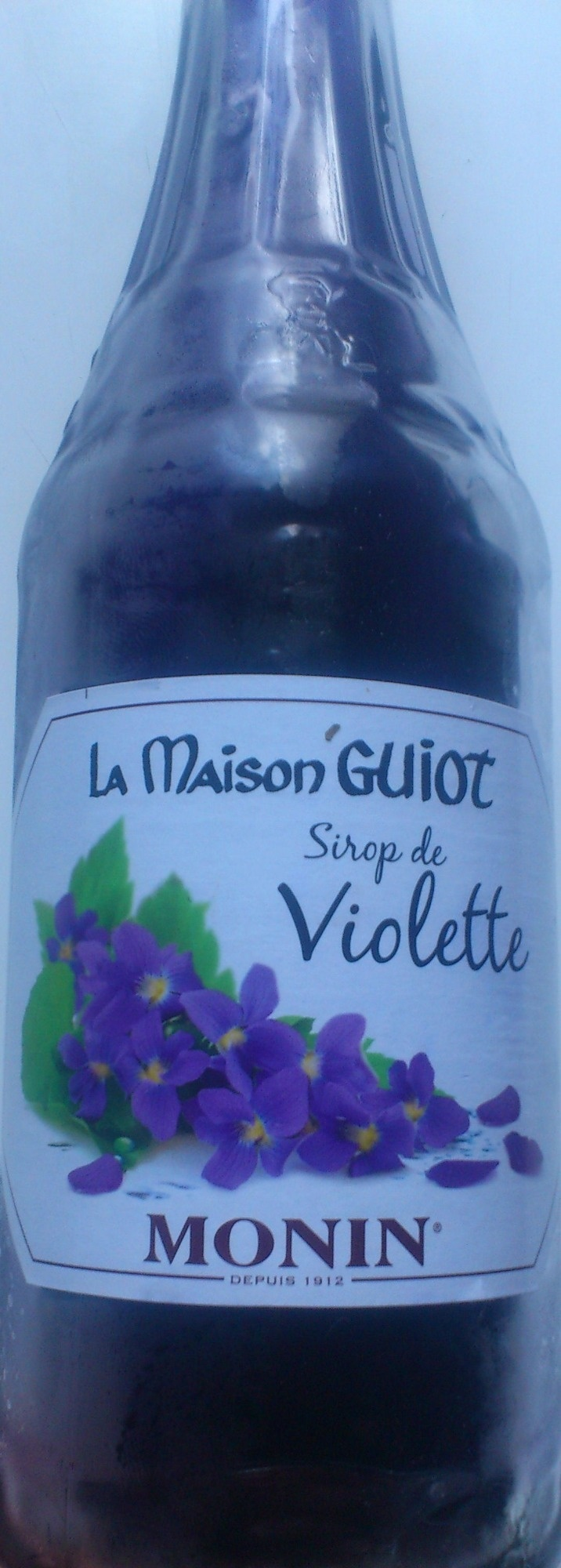 Sirop de violette la maison guiot 70cl - Sirop de violette ...