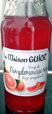 Sirop de pamplemousse rose - Produit