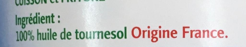 Coeur de Tournesol (+20% gratuit) - Ingredients - fr