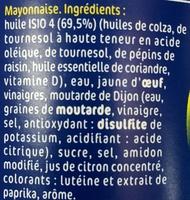 Isio 4 Mayo' - Ingrediënten