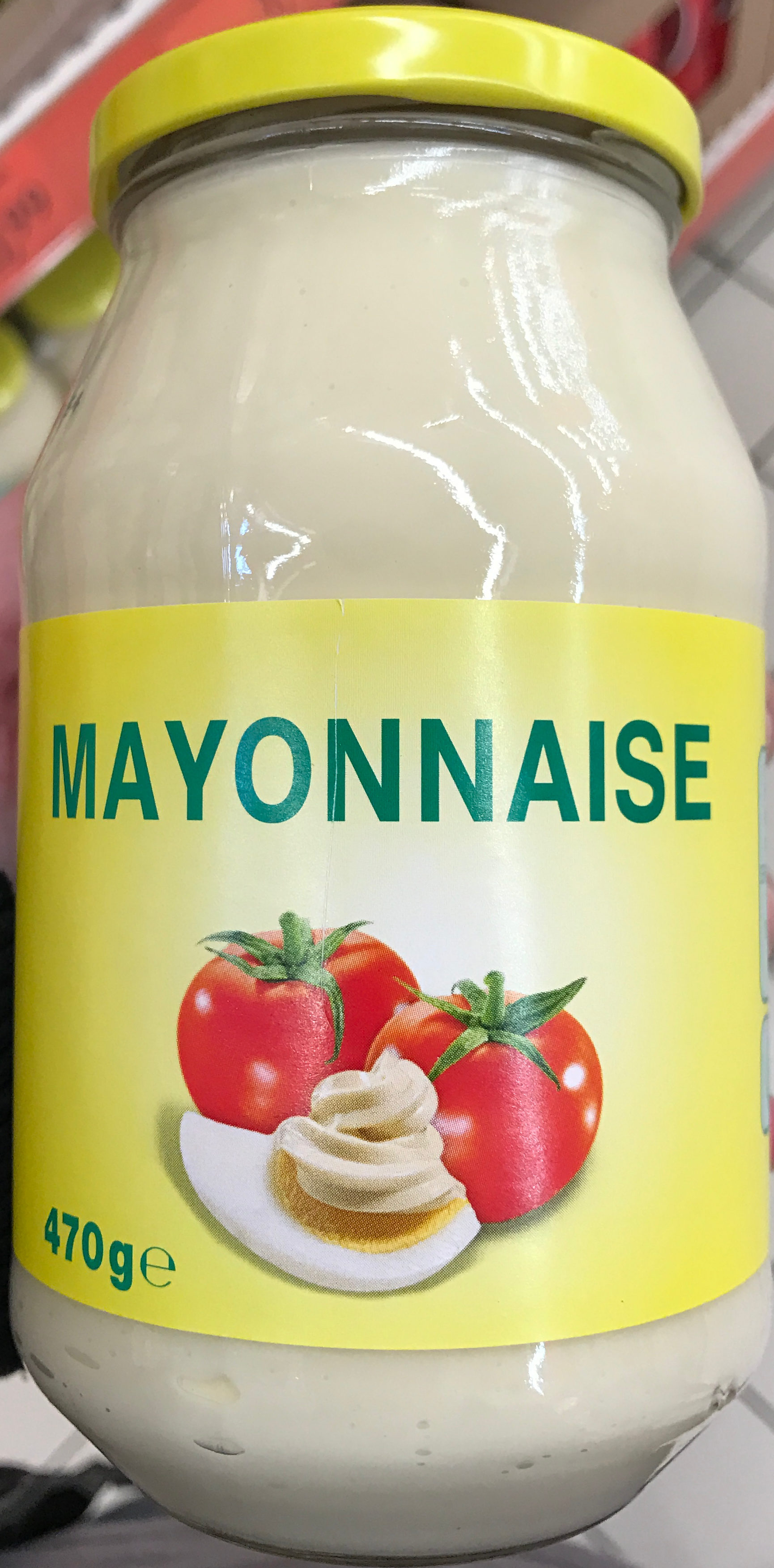 Mayonnaise sans marque 470 g - Mayonnaise sans vinaigre ...