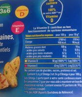 Isio 4 - Informations nutritionnelles - fr