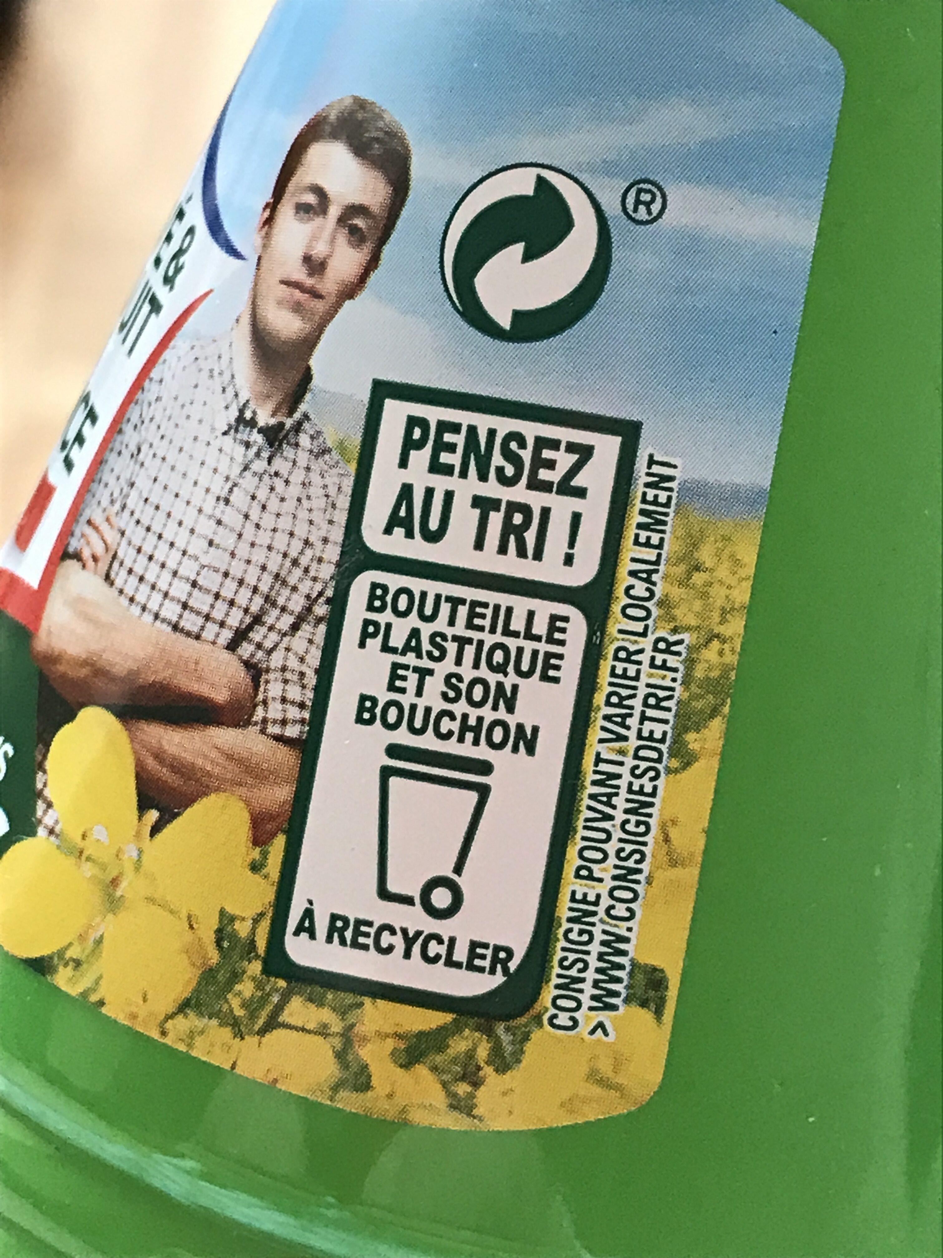 Fleur de Colza - Instruction de recyclage et/ou information d'emballage - fr