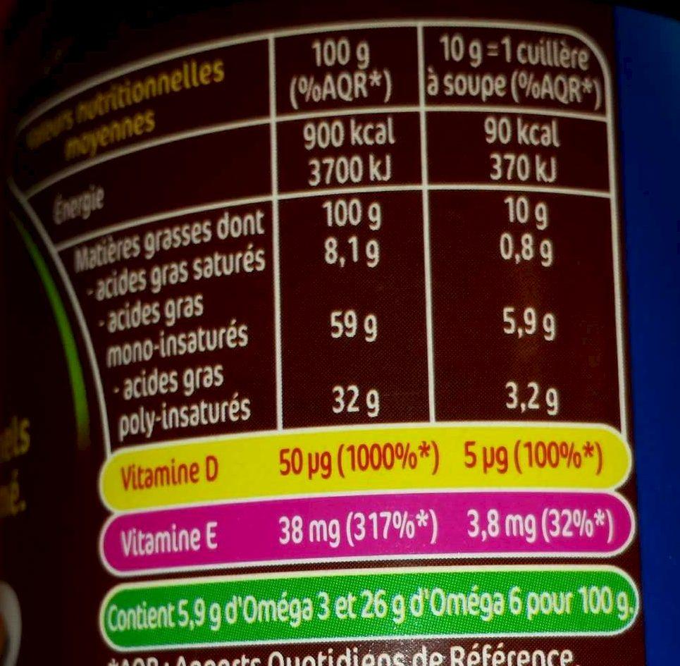 ISio 4 Touche de noix - Nutrition facts - fr