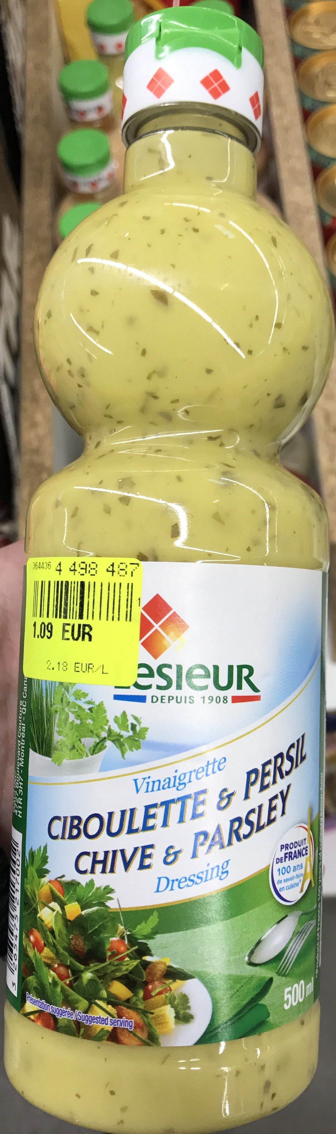 Vinaigrette Ciboulette & Persil - Product