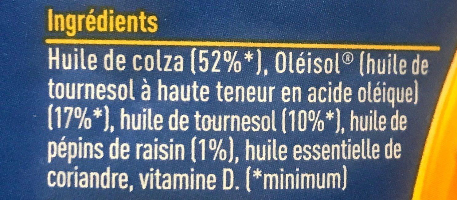 Isio 4 - Ingredients - fr