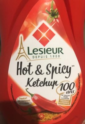 Hot & spicy Ketchup - Produit