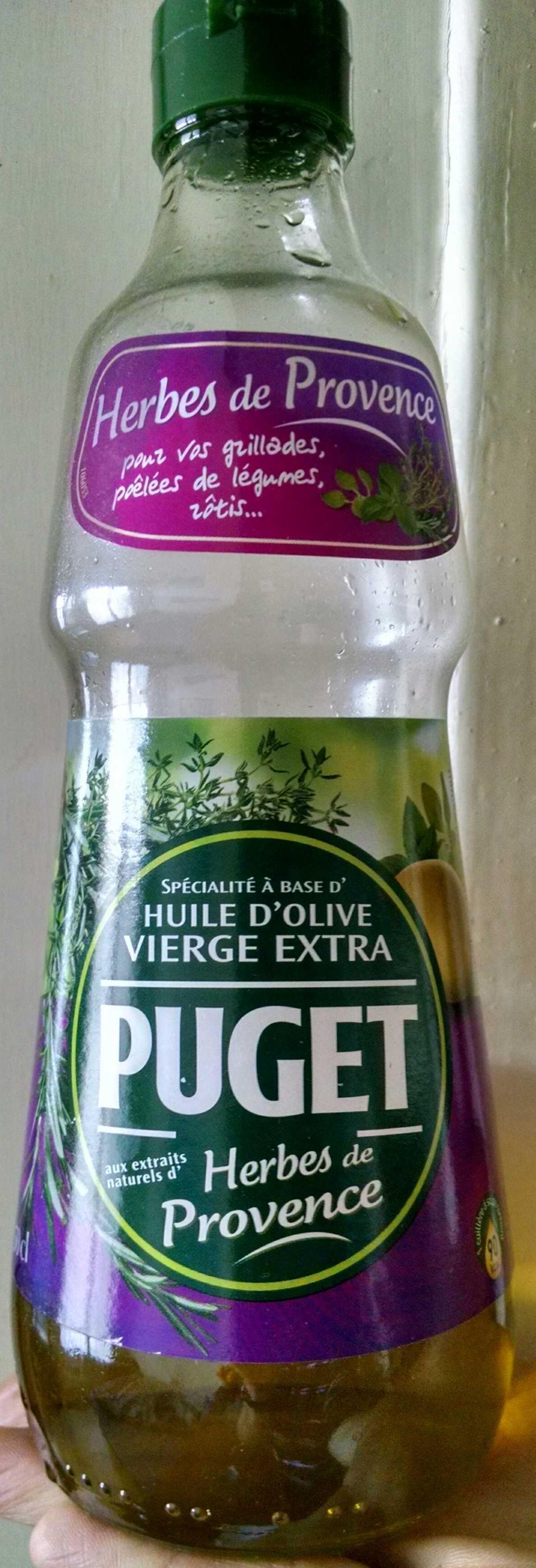 Huile d'olive vierge extra aux extraits naturels d'herbes de provence - Product