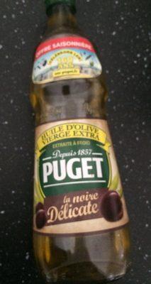 La Noire Délicate - Huile d'olive vierge extra - Product - fr