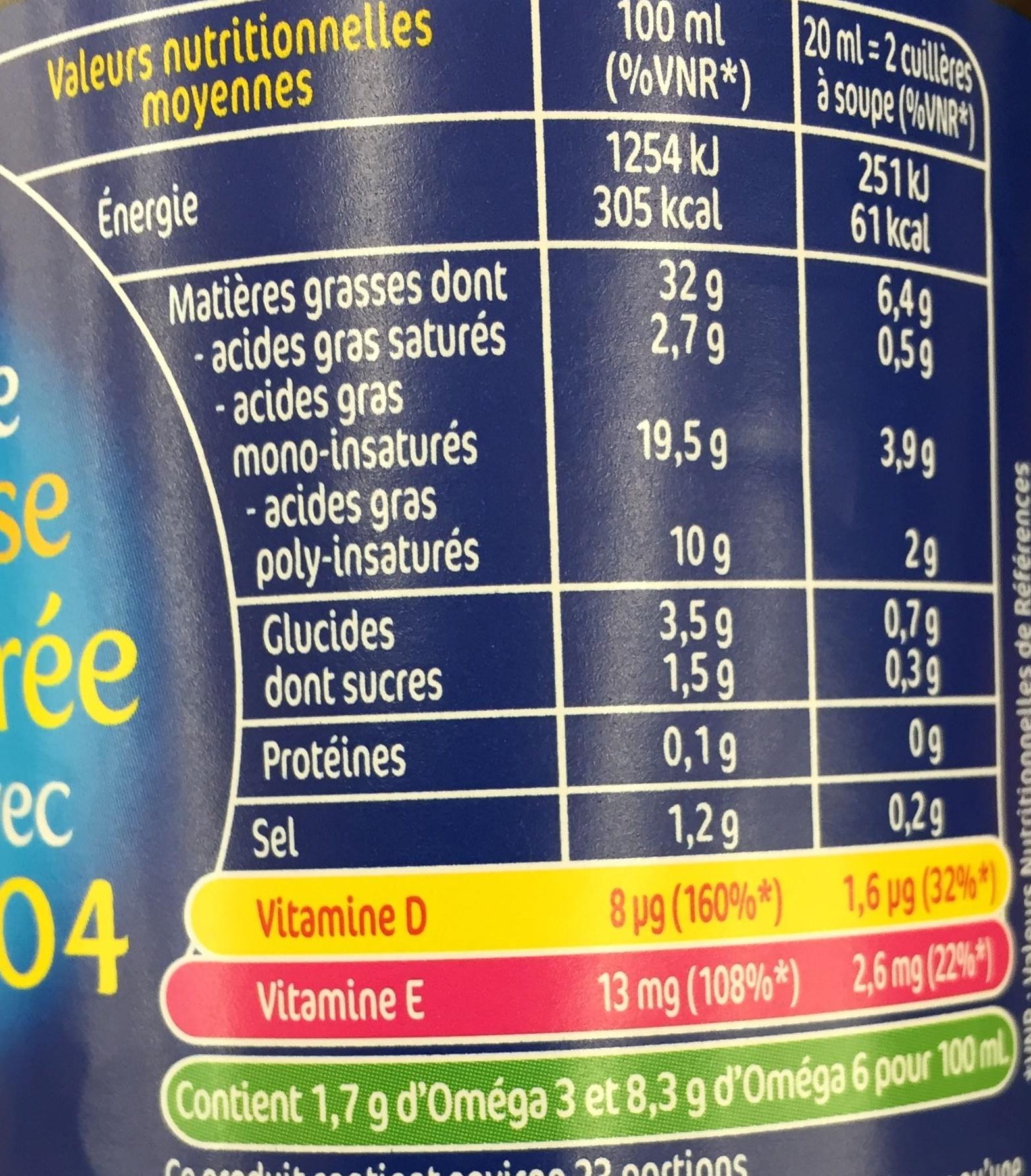 Isio 4 vinaigre balsamique saveur basilic lesieur 45 cl - Vinaigre balsamique calorie ...
