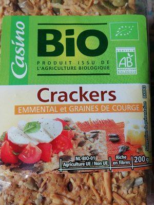 Crackers Emmental et Graines de courge - Produit