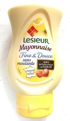 Mayonnaise fine douce sans moutarde lesieur 220 g - Mayonnaise sans vinaigre ...