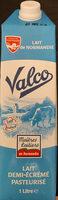 Valco lait 1/2 ecreme frais - Product
