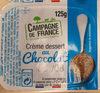 Crème dessert, chocolat - Produit