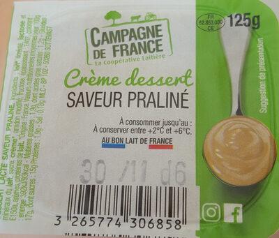 Crème Dessert Saveur Praliné - Product - fr