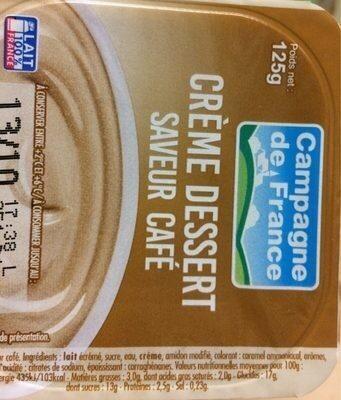 Crème dessert, saveur café - Product - fr
