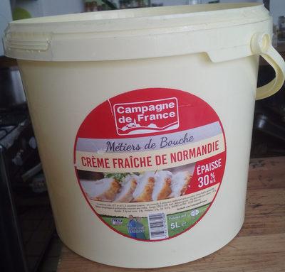 Crème fraîche de Normandie (30% MG) - Product - fr