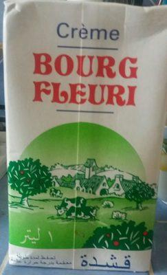Bourg fleuri, Creme sterilisee uht 30 % mg, la brique d'1 l - Produit