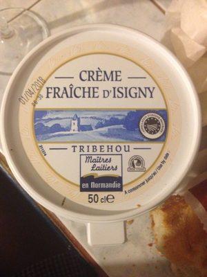 Crème fraîche d'Isigny 38% M.G. - Product