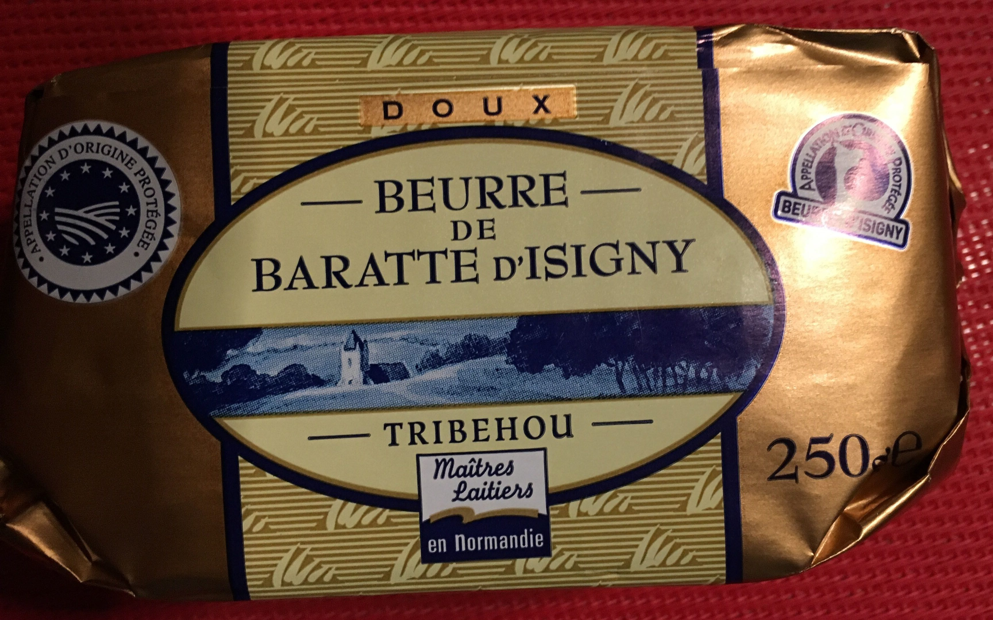 Beurre de baratte d'Isigny - Product - fr