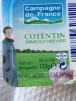 Cotentin - Ingredients