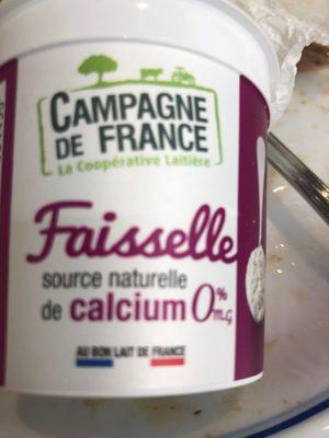 Faisselle 0% - Produit - fr