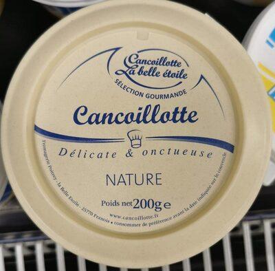 Cancoillotte gourmande Nature - Produit - fr