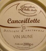 Cancoillotte gourmande Vin Jaune - Produto - fr