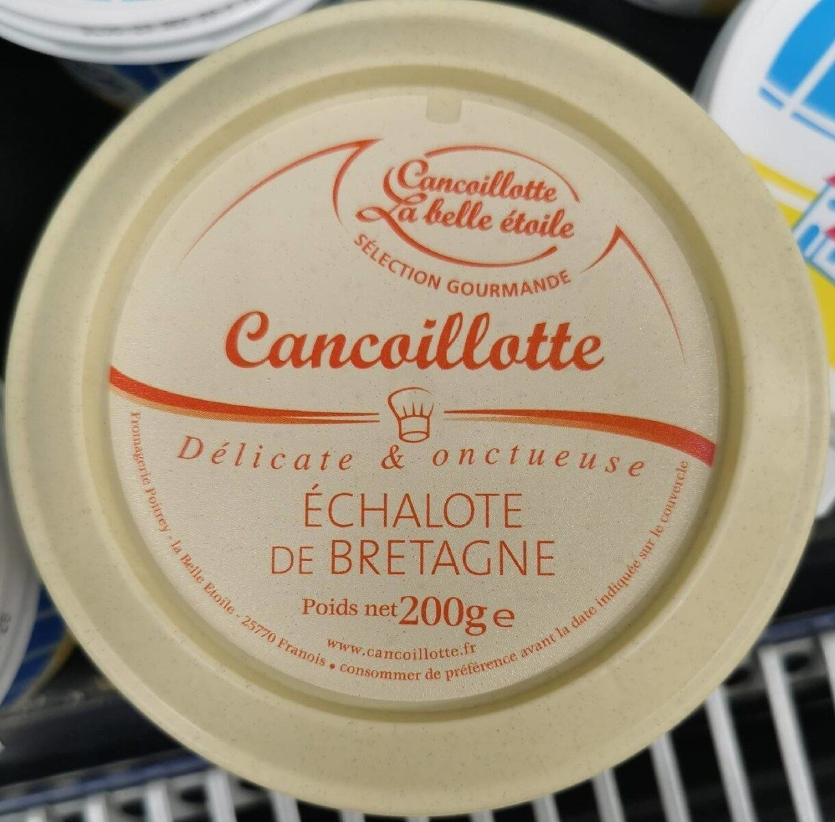 Cancoillotte gourmande Echalote de Bretagne - Produit - fr