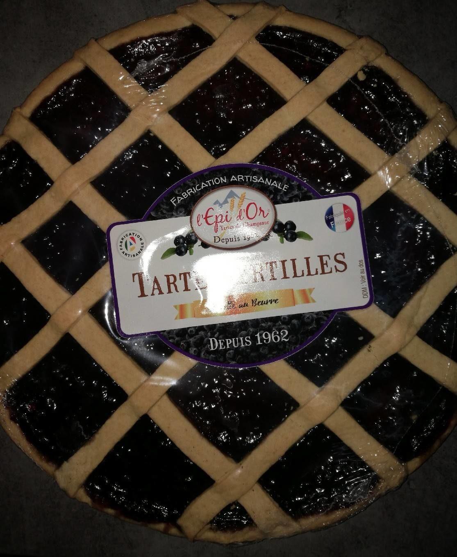 Tarte Myrtilles - Product - fr