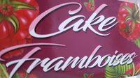 Cake framboise - Produit - fr