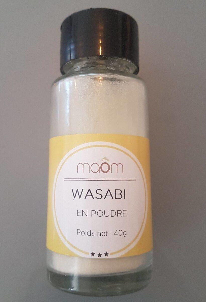 Wasabi en poudre - Product - fr