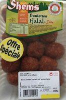 Boulette Halal - Prodotto - fr