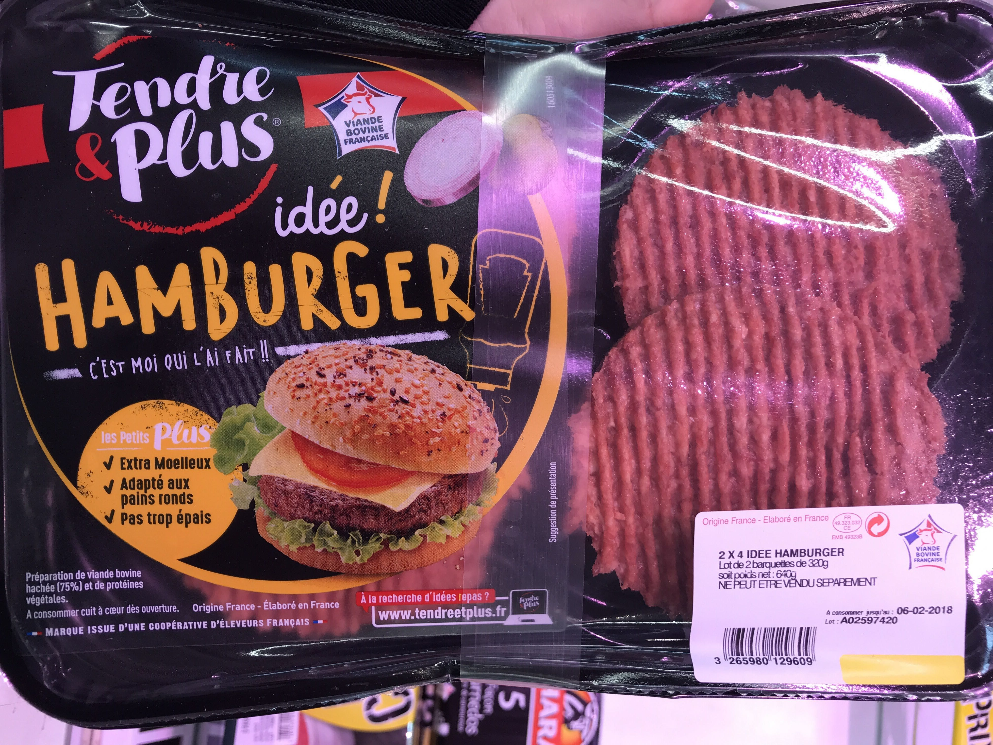 Idée! Hamburger - Product