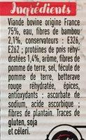 Le maxi Burger - Ingredients - fr
