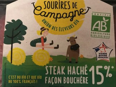 Steak haché façon bouchère - Produit - fr