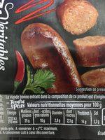 Merguez x6 - Ingrediënten
