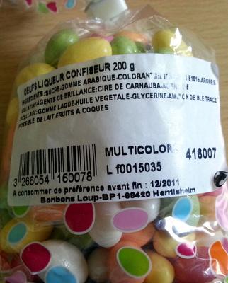 Oeufs delice confiseur - Product