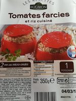 Tomates Farcies et riz cuisiné - Produit