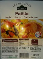 Paëlla poulet chorizo fruits de mer - Produit