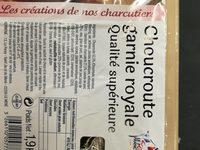 Choucroute Garnie 4 Personnes, - Ingredients