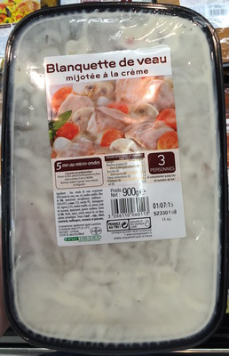 Blanquette de veau mijotée à la crème - 1