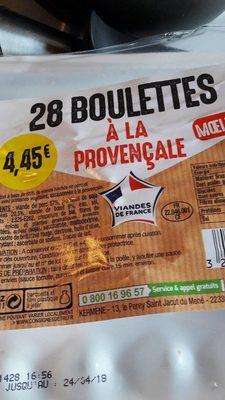 Boulettes à la Provençale - Product