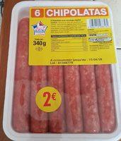 6 Chipolatas - Produit