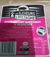 Jambon cuit superieur - Informations nutritionnelles - fr
