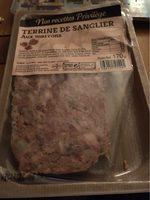 Terrine de sanglier aux marrons - Produit - fr