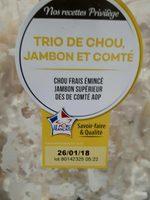 Trio de Chou Jambon et Comté - Produit - fr