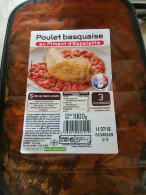 Poulet basquaiqe au piment d'espelette - Produit