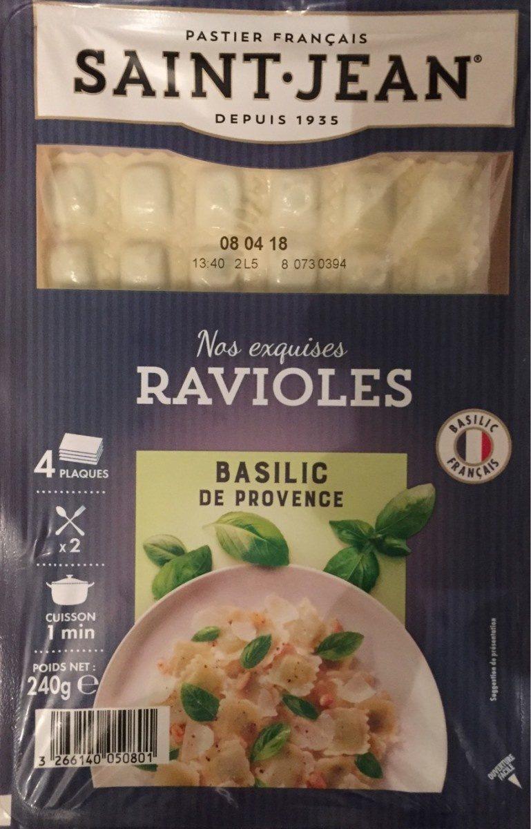 Ravioles au Basilic - Produit
